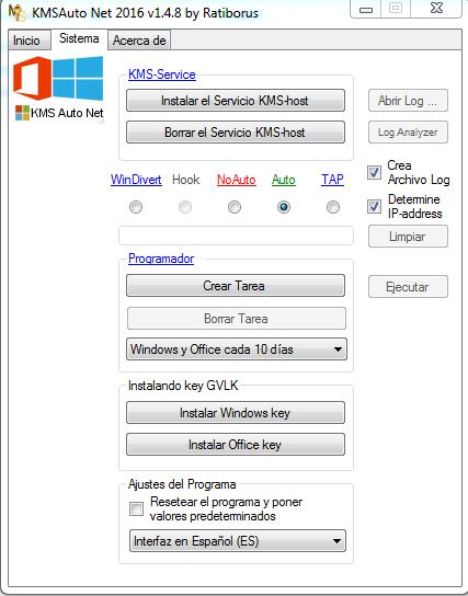 KMSAuto Net 2016 1.5.1 Multilenguaje][Activar windows y offi