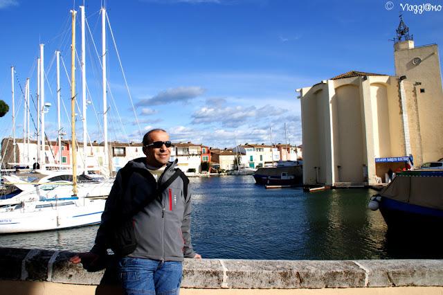 Vista panoramica sul porto e sulle case dell'abitato