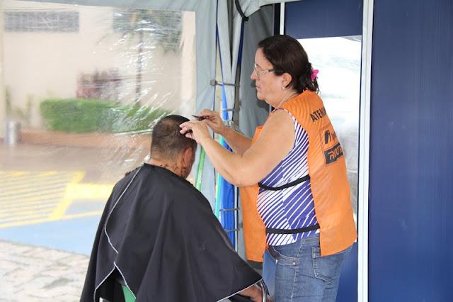 Secretaria de Saúde distribui doses de vacina e orienta caminhoneiros no Programa Saúde na Estrada