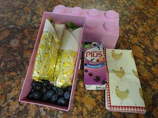 Wrap in Lego Lunch Box