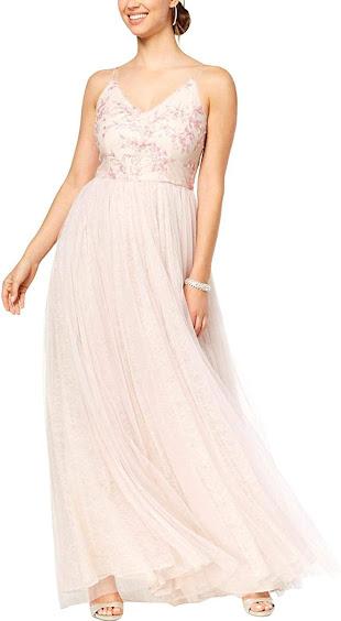 Cheap Organza Tulle Bridesmaid Dresses