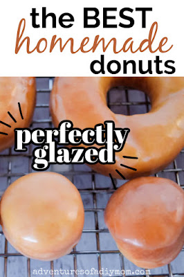 donuts and donut holes with glaze