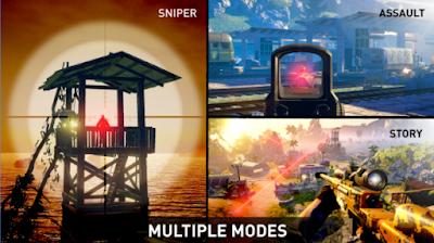 Download Sniper Ghost Warrior Mod Apk OBB Terbaru Gratis