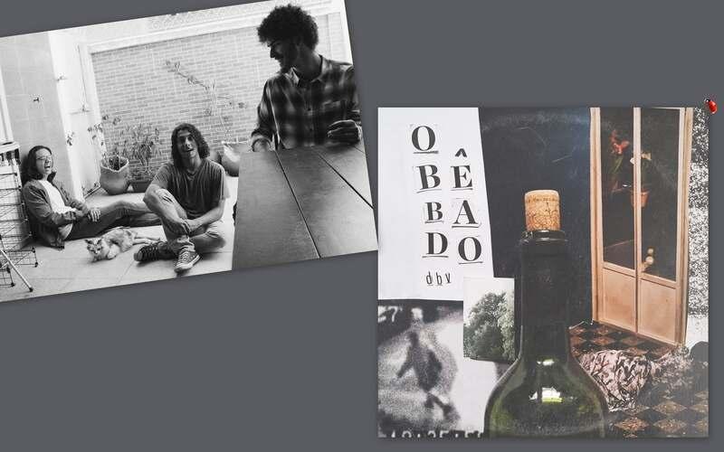 """Duane, Braga e Vini não é uma banda, mas um grupo de amigos que usa a cumplicidade da amizade como parte de seu processo criativo. Trazendo um clima intimista e inspirado no rock dos anos 60 e em uma MPB pop, eles dialogam sobre as reminiscências de uma noite de bebedeira em """"O Bêbado"""", single disponível em todas as plataformas de música digital.."""