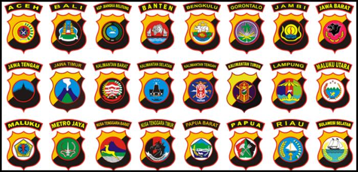 ^Alamat Kantor Kepolisian Daerah (Polda) Seluruh Indonesia