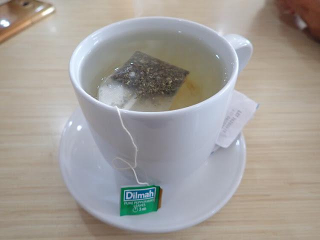 peppermint dilmah tea