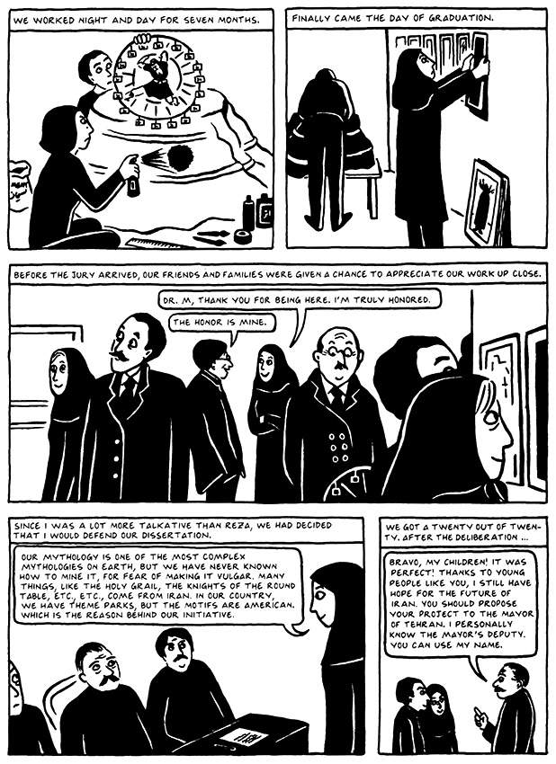 Read Chapter 19 - The End, page 176, from Marjane Satrapi's Persepolis 2 - The Story of a Return