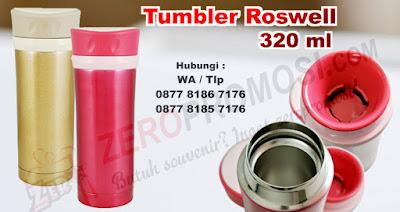 Roswell Bottle 320 ml, botol minum unik dari Mizzu, Tumbler Promosi Stainless Stell Roswell 320 ml, botol minum Roswell Vacuum Series Tumbler 320ml