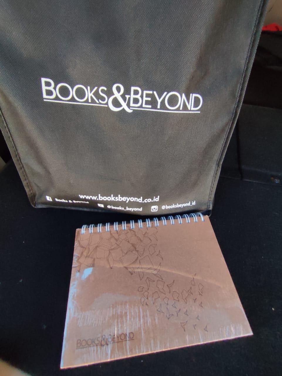 Goodie Bag dan Agenda Books and Beyond