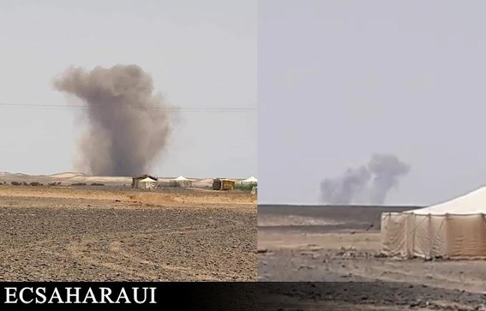 🔴 Tres fuertes explosiones sacuden una zona militar marroquí en Smara ocupada.