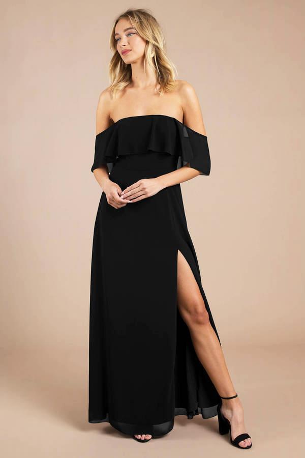 Dress Hitam Cantik dan seksi Manis dan imut
