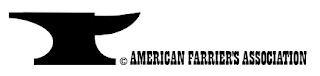 American Farrier's Association anvil logo