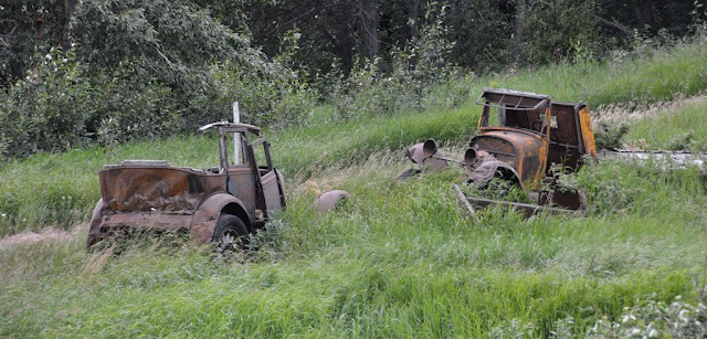 Chitina Alaska old cars