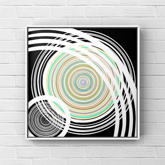 spinning art, abstract art, Mark Taylor, Beechhouse Media,