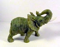 carved elephant