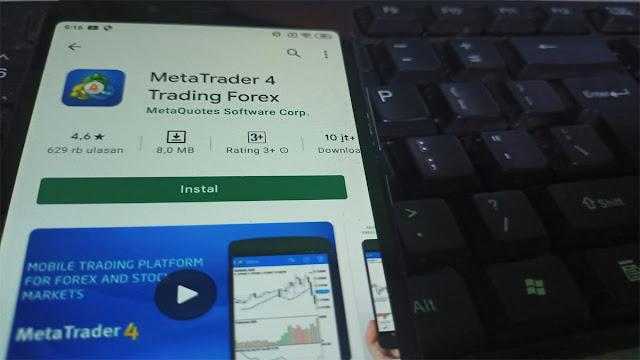 Belajar Aplikasi Metatreder 4 di Android