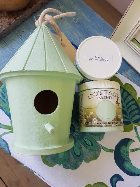 Cottage Paint robin's egg blue