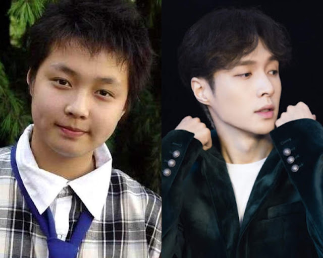 lay zhang yixing chubby childhood