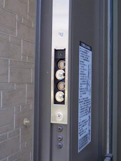 LIXIL CAZAS 玄関扉の鍵(エントリーシステム)電池交換
