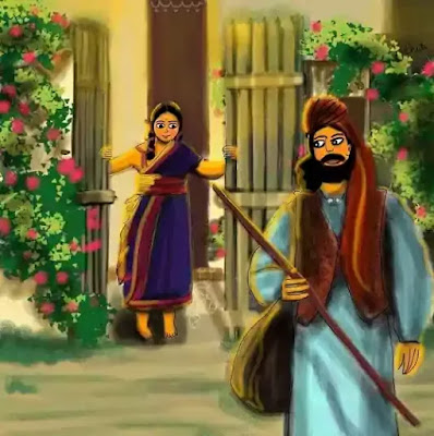Kabuliwala: the most famous of Tagore's stories. It was made into a Bengali film in 1957 under the direction of Tapan Sinha and a Hindi film in 1961 under the direction of Hemen Gupta.
