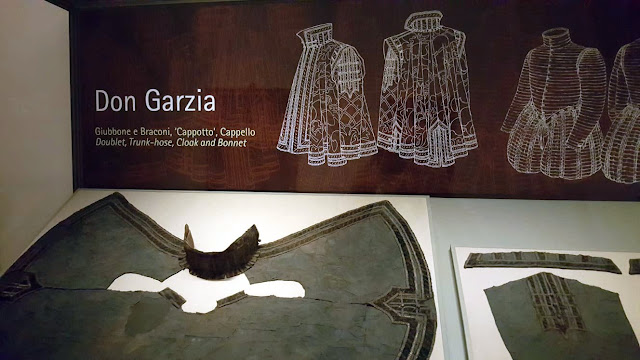 Don garzias clothes from the fashion museum in the palazzo pitti