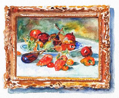Fruits Of Midi Renoir Still Life Study