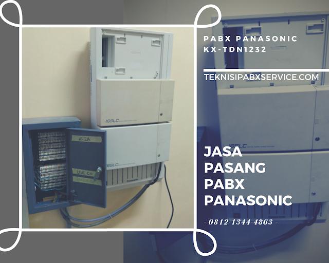 Teknisi belajar cara pasang PABX Panasonic TDN1232