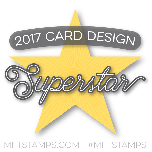 I'm a 2017 Card Design Superstar!