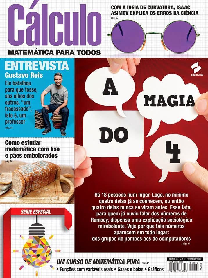Capa da Revista Cálculo - Fev/15