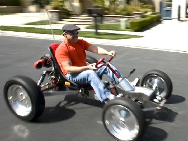 Home Built Electric Golf Cart Car