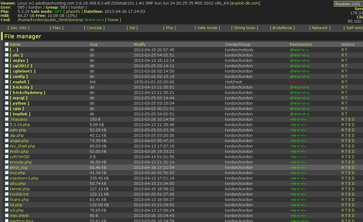 B374k 32 php shell