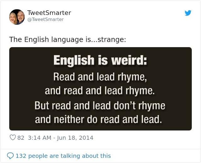English is Strange
