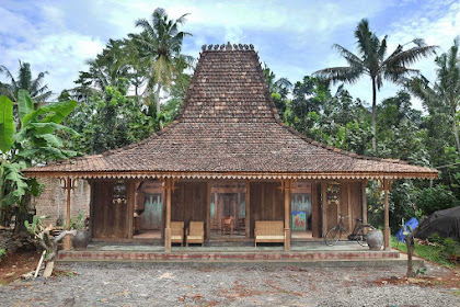 Gaya Arsitektur Tradisional Rumah Jawa Bagi Bangunan Modern