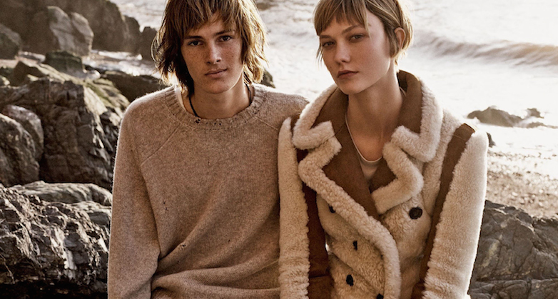 shore leave: karlie kloss and dylan brosnan by mikael jansson for us vogue november 2015