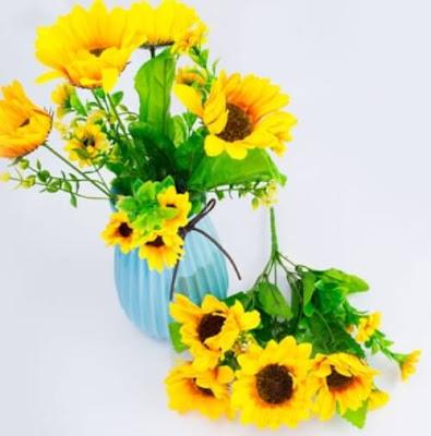Bunga Plastik / Bunga Artificial Matahari (Seri X4)