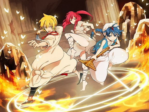 Anime Review: Magi: The Labyrinth Of Magic