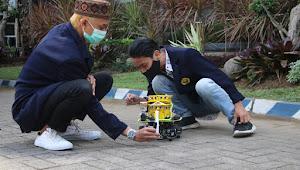 Terinspirasi Covid-19, Tim Robot CDAST FT Universitas Jember Melaju ke Babak Final Kontes Robot Indonesia (KRI) 2020