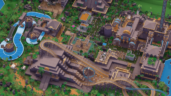 Parkitect game for Windows, Linux, and Mac