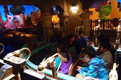 Boat ride of Sindbad's Storybook Voyage Tokyo Disneysea