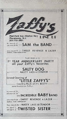 Zaffy's band line up