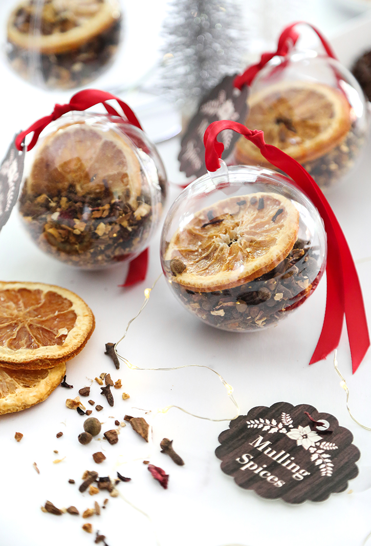 DIY Mulling Spice Ornaments