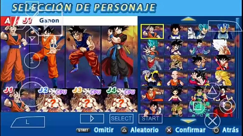 Best Android Game DBZ Budokai Tenkaichi 4 Mod PSP ISO Download