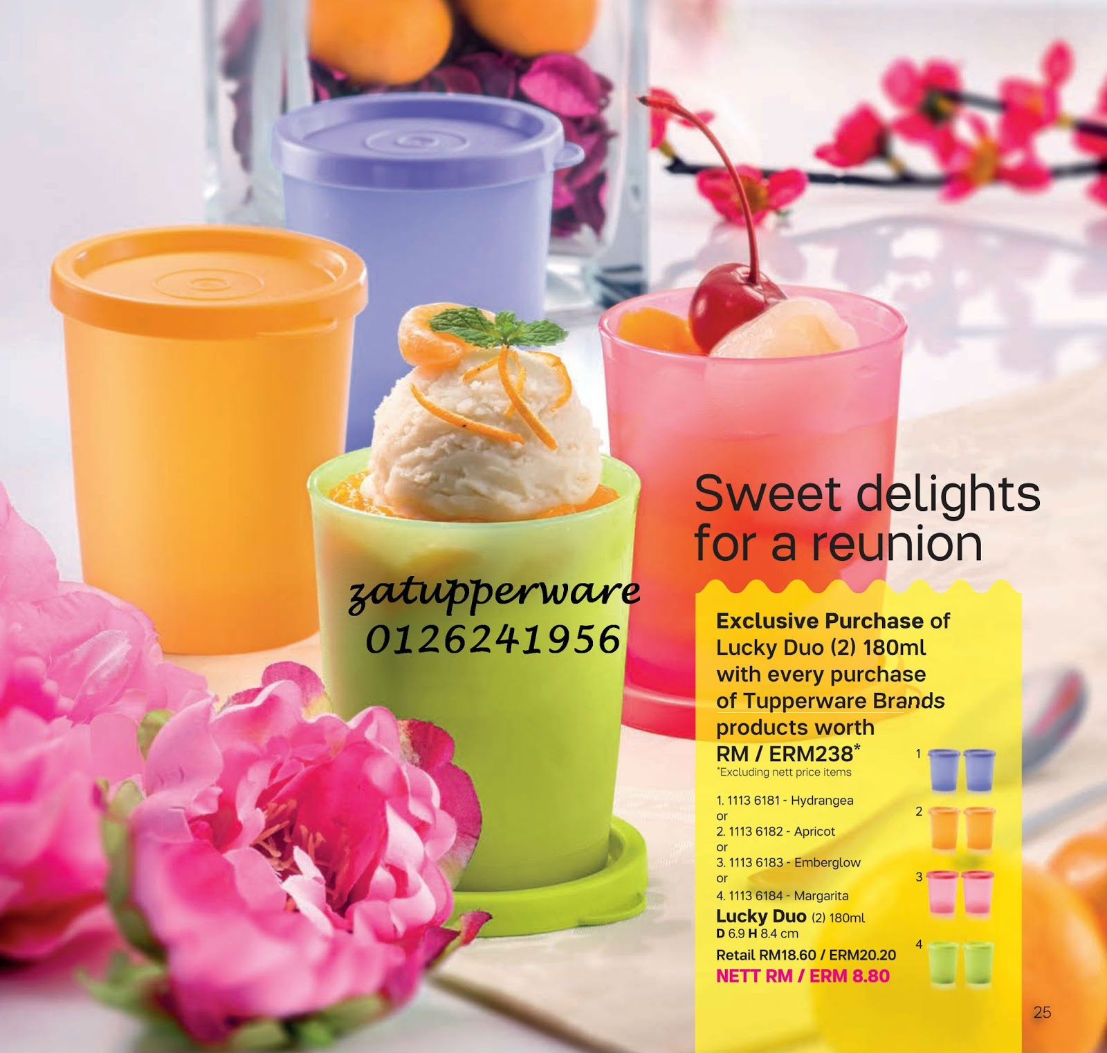 Za Tupperware Brands Malaysia : Latest Catalogue 2018