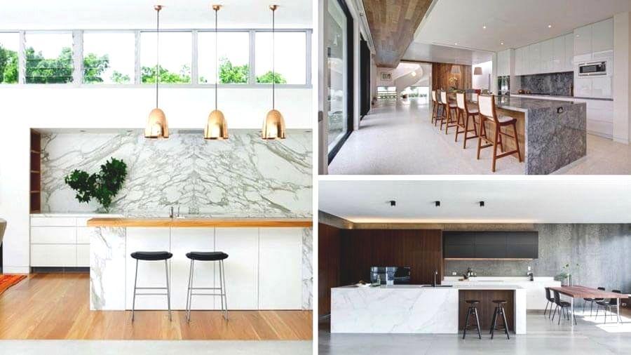 Marble Kitchen Design Ideas