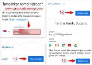 Cara Buat Email Gmail Baru Lewat Hp Android