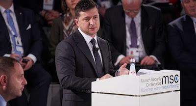 Зеленський озвучив у Мюнхені план врегулювання на Донбасі