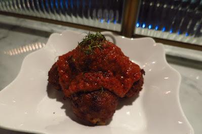 Violet Oon Satay Bar & Grill, meatless meatballs