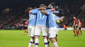 أجويرو مانشستر سيتي للفوز على شيفيلد يونايتد بهدف وحيد في إياب الدوري الانجليزي