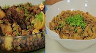 طريقة عمل طاجن لحم وبصل - شوربة عدس بالمكرونة مع نورا السادات في عمايل إيديا 4-2-2017