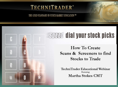 screen shot of professional style tc2000 scans webinar